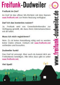 Infoblatt Freifunk-Dudweiler
